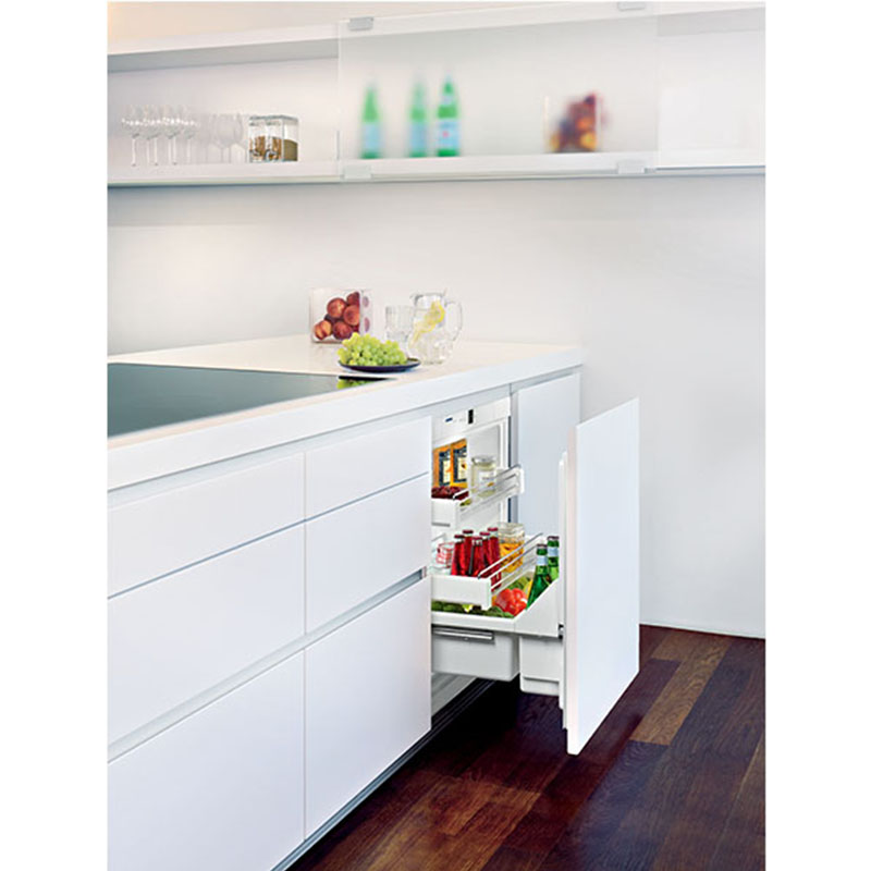 underbench pull out fridge bar kouzina appliances. Black Bedroom Furniture Sets. Home Design Ideas