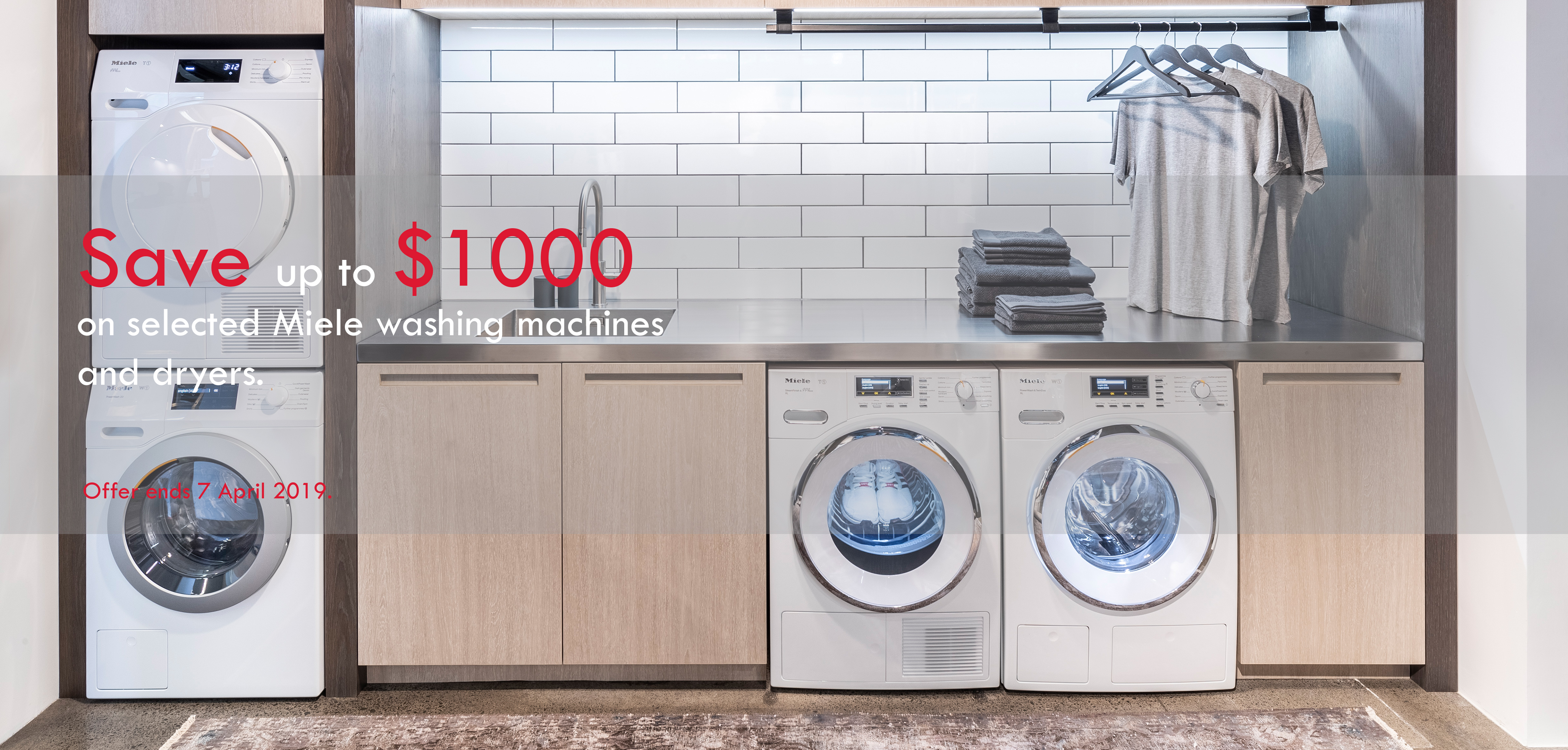 Miele Laundry Banner March2019